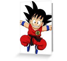 Goku - Dragon Ball Greeting Card