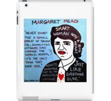 Margaret Mead Pop Folk Art iPad Case/Skin