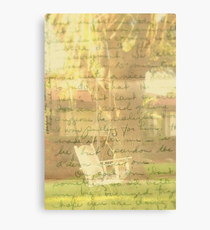 Dear John... Canvas Print