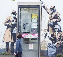 Banksy Street Art by Theresa Selley