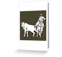 Charro Up Greeting Card