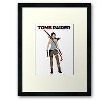 Lara Croft -  Tomb Raider Framed Print