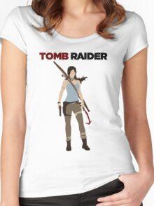 Lara Croft -  Tomb Raider Women's Fitted Scoop T-Shirt