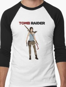 Lara Croft -  Tomb Raider Men's Baseball ¾ T-Shirt
