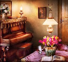 Hobby - Piano - The Music Room by Mike  Savad