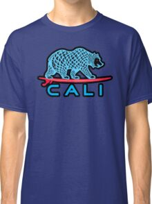 Cali Bear (Light Blue With Black Border) Classic T-Shirt