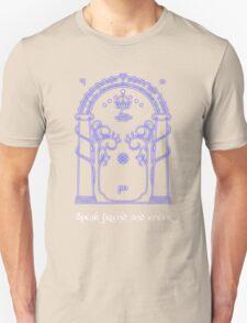 Speak friend and enter (Dark tee) T-Shirt