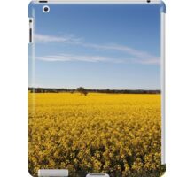 Rural sea of Canola iPad Case/Skin