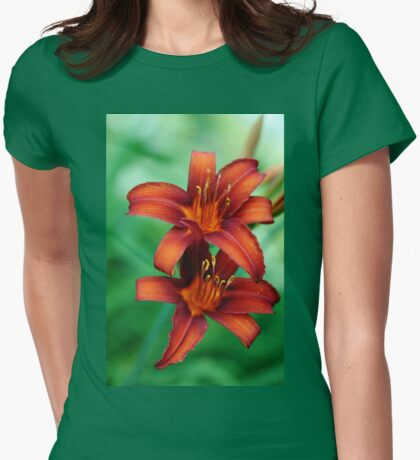 Tawny Beauty Womens Fitted T-Shirt