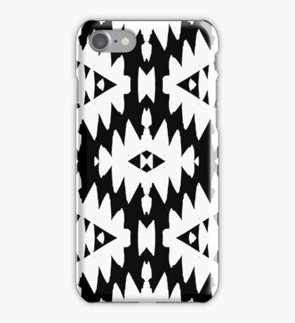 Pattern with Native American art motifs iPhone Case/Skin