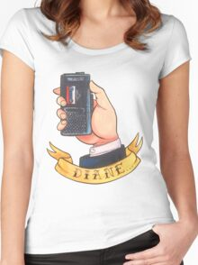 Special Agent Dale Cooper Women's Fitted Scoop T-Shirt