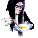My Rasta Friend Eating Soup by Ognjen Stevanović