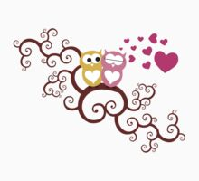 Owls in Love T-Shirt