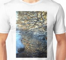 Snowy Creek Reflection Unisex T-Shirt
