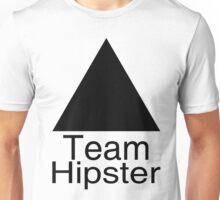 Team ▲ Hipster à la Helvetica Unisex T-Shirt