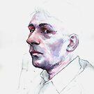 Father Portrait by Ognjen Stevanović