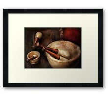 Pharmacy - Back to the grind Framed Print