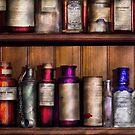 Pharmacy - Ingredients of Medicine  by Mike  Savad