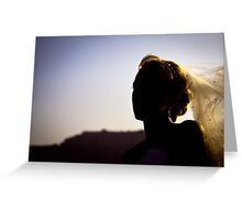 Helenic Bride Greeting Card