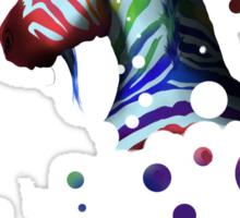 UniZebra Rainbow Sticker