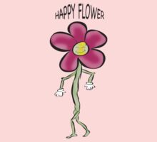 Happy Flower~ One Piece - Short Sleeve