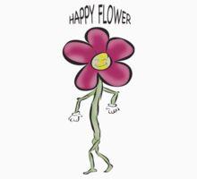Happy Flower~ Baby Tee