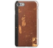 Old book iPhone Case/Skin