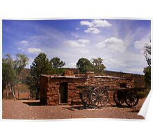 Australian Outback Building Poster