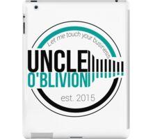 Uncle O'blivion Logo iPad Case/Skin