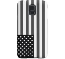 American Flag Black And White Samsung Galaxy Case/Skin