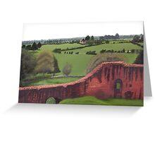 Kennilworth Castle, England Greeting Card