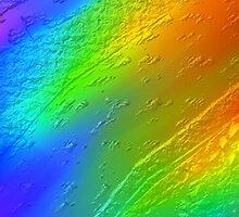 metal touch rainbow texture by HHarrabi