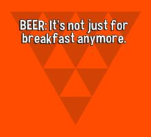 BEER: It's not just for breakfast anymore. by margdbrown