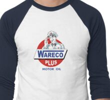 Wareco Motor Oil Shirt Men's Baseball ¾ T-Shirt