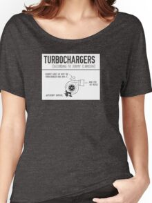 How Turbochargers work, By Jeremy Clarkson Women's Relaxed Fit T-Shirt