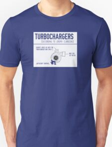 How Turbochargers work, By Top Gear's Jeremy Clarkson T-Shirt