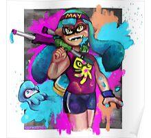 Splatoon: GET INKED SON Poster