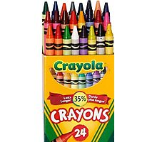 Crayola Photographic Print