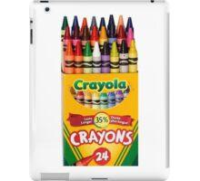 Crayola iPad Case/Skin