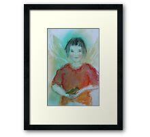 """""""Avian Angel"""" Framed Print"""