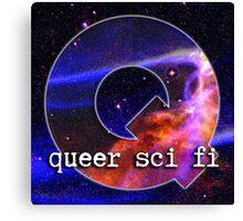 Queer Sci Fi Logo Canvas Print