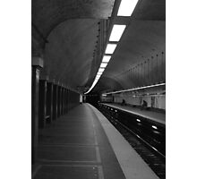 Boston T Stop Photographic Print