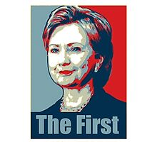 Hillary - The First Photographic Print