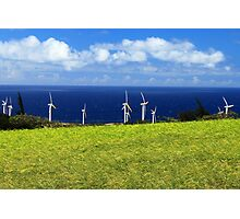 Green Energy Photographic Print