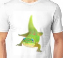 Say cheese!  (Smiling gecko) Unisex T-Shirt