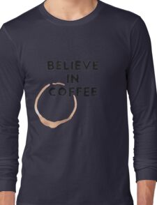Religious Coffee Long Sleeve T-Shirt