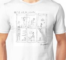 Ted and the intruder Unisex T-Shirt
