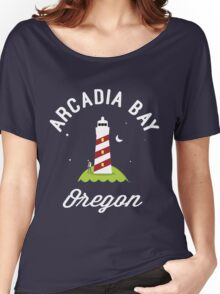 Pricefield Under a Lighthouse Women's Relaxed Fit T-Shirt