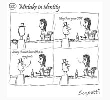 Mistake in identity by Scapetti