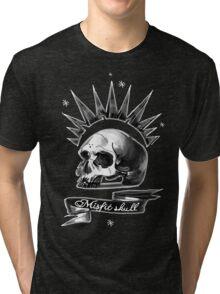 Misfit Skull Black Tri-blend T-Shirt